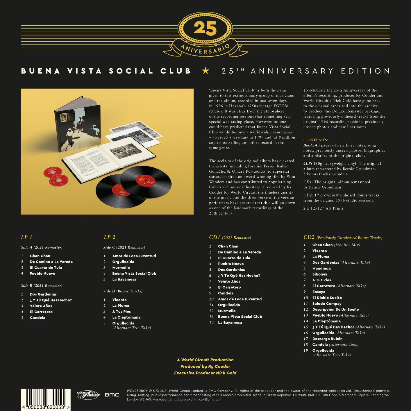 Buena Vista Social Club (25th Anniversary Edition)
